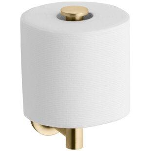 Purist Vertical Toilet Tissue Holder by Kohler