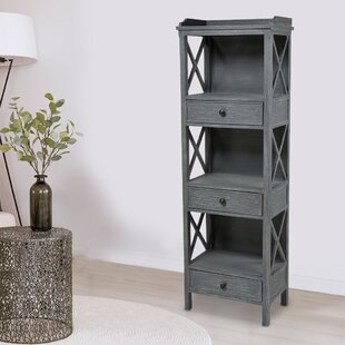 Mcgonigal 3-Drawer Etagere Bookcase by Gracie Oaks