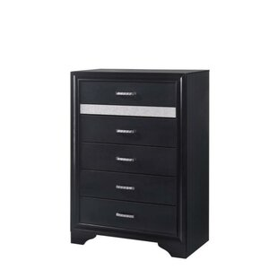 Sharla 5 Drawers Chest by House of Hampton