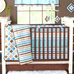 Price comparison Danise Diamonds and Stripes 10 Piece Crib Bedding Set ByHarriet Bee