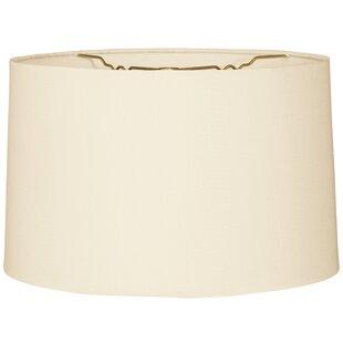 16 Burlap Drum Lamp Shade