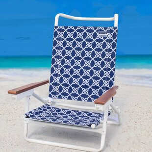 Nautical Knots Reclining Beach Chair