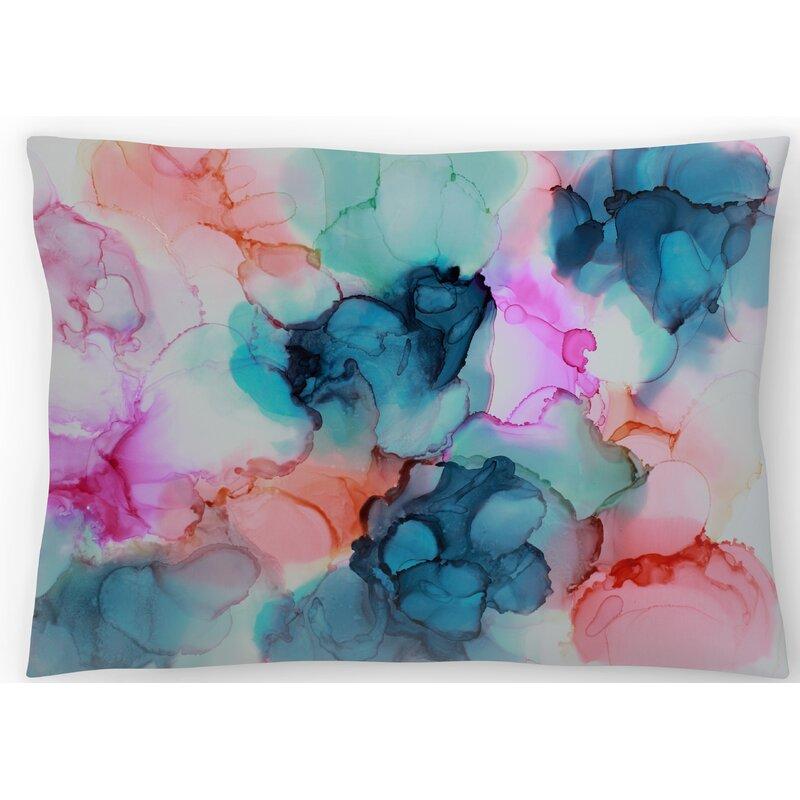 East Urban Home Bursting With Love Lumbar Pillow Wayfair