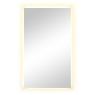 Great Price Cornell Rectangular Unframed Wall Mirror By Rosecliff Heights