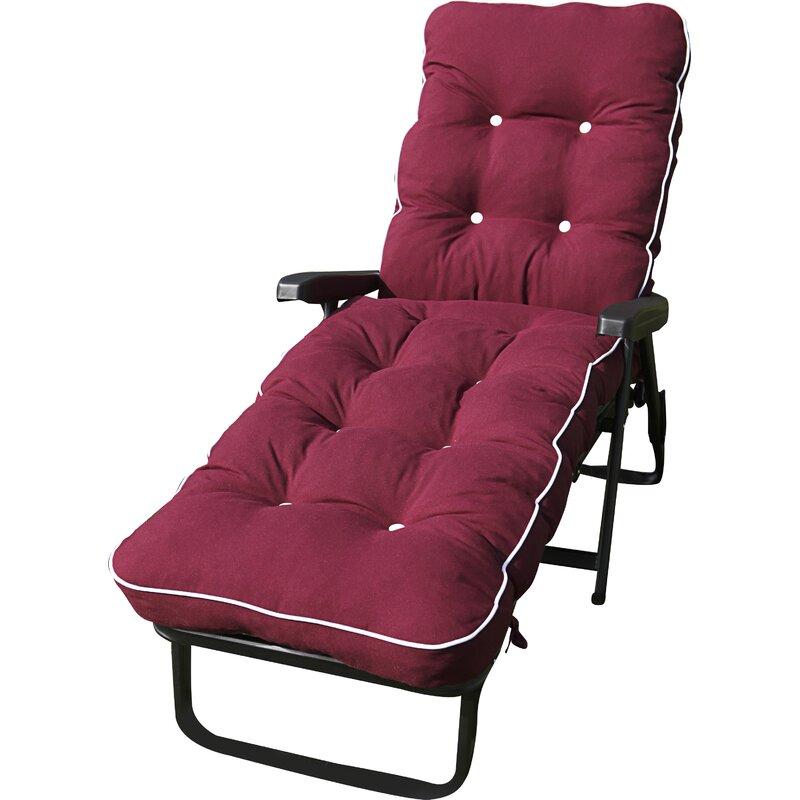 Sol 72 Outdoor Ozzie Sun Lounger Cushion | Wayfair.co.uk