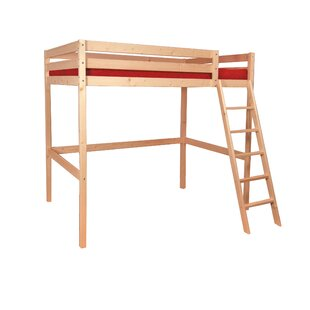 Adah High Sleeper Bed With Drawers And Shelves By Harriet Bee