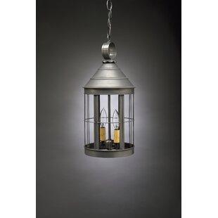 Northeast Lantern Heal 2-Light Outdoor Hanging Lantern