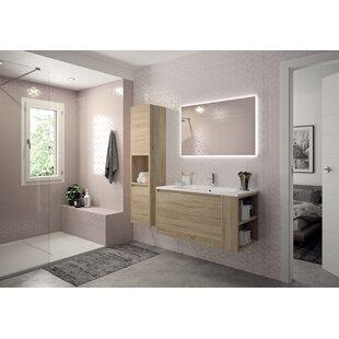 Ebern Designs Tall Bathroom Cabinets