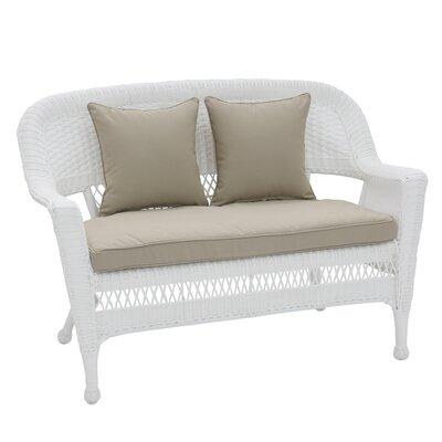 Excellent Birch Lane Heritage Alburg Loveseat With Cushions Fabric Tan Inzonedesignstudio Interior Chair Design Inzonedesignstudiocom
