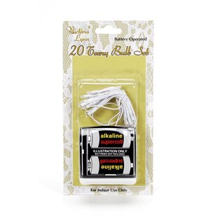 Symple Stuff Willey 20 Light Fairy String Light