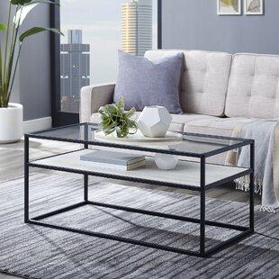Canalou Reversible Shelf Coffee Table by Brayden Studio