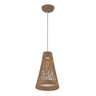 Bay Isle Home Carlisle 1-Light Cone Pendant