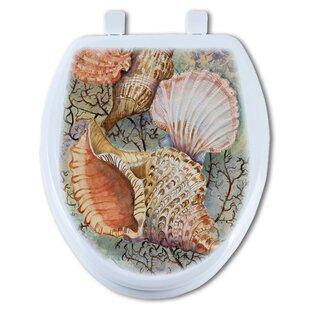 TGC Artisans Seats Jewels of the Sea Round Toilet Seat