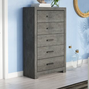 Rosen 5 Drawer Chest by Be..
