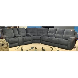 Southern Motion Royal Flush Reclining Sectional