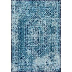 Chianna Vintage Blue Area Rug