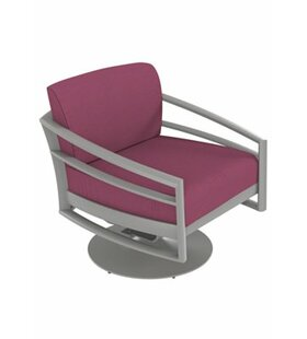 Kor Swivel Action Lounger Patio Chair with Cushions