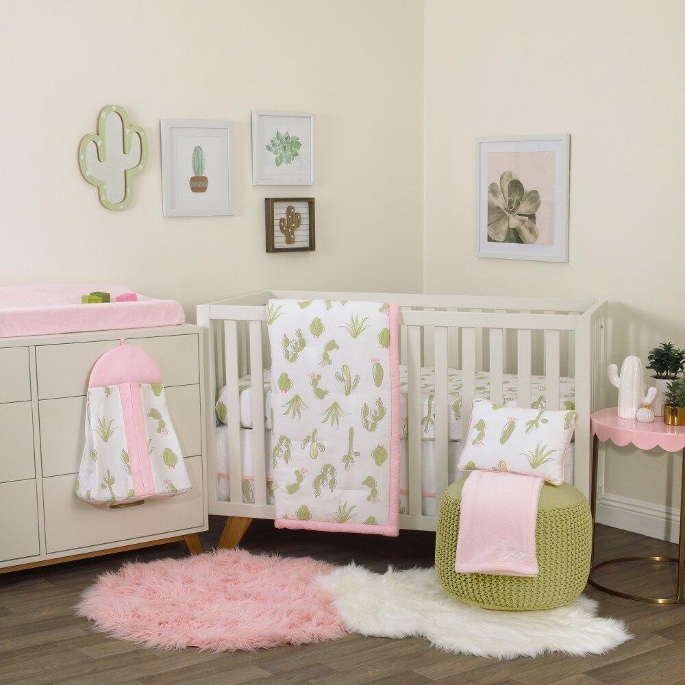 Isabelle Max Amaro Cactus 8 Piece Crib Bedding Set Reviews Wayfair