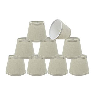 Transitional 6 Fabric Empire Lamp Shade (Set of 5)