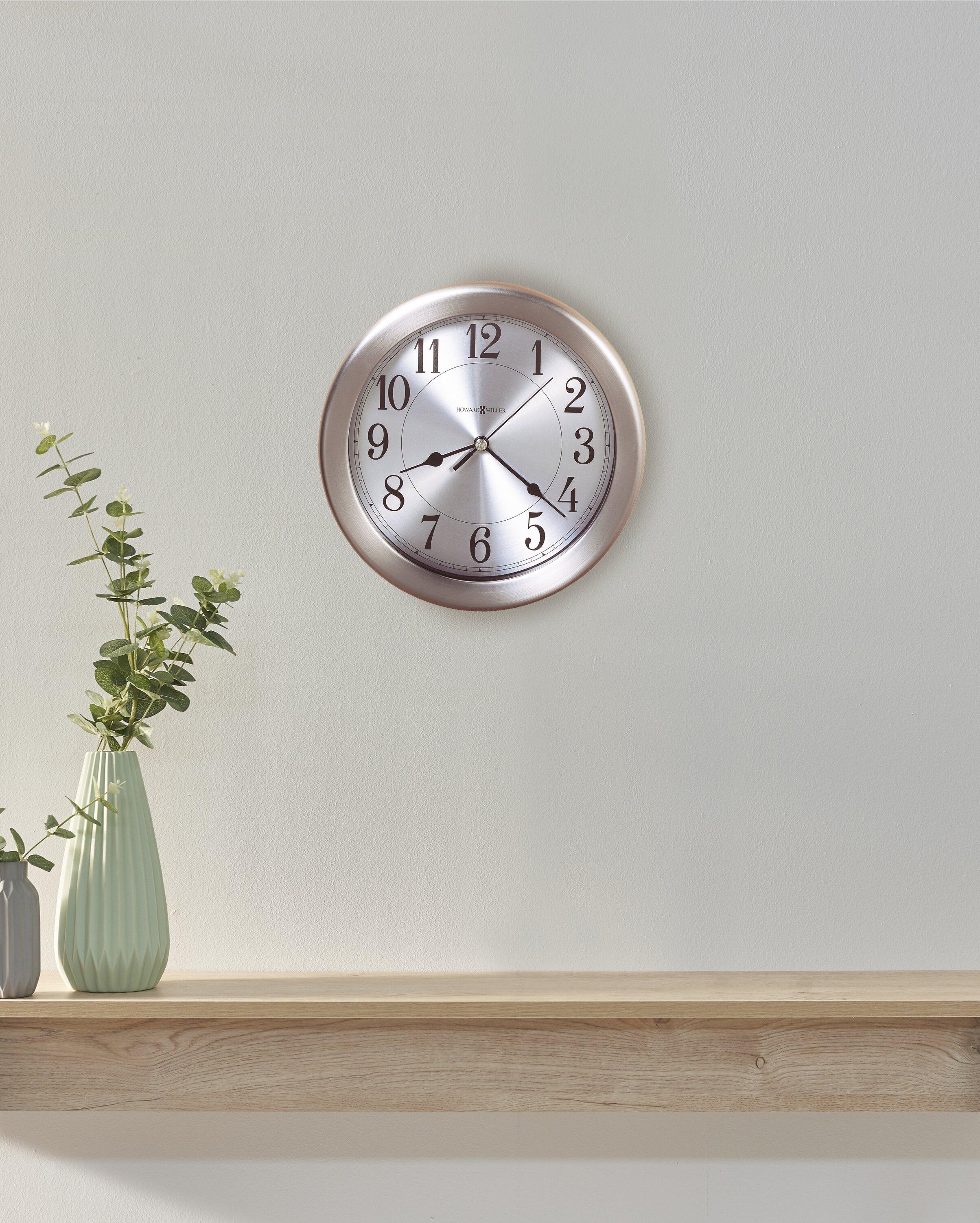 Howard Miller Special Wall Mount Pisces Quartz 8 5 Clock Reviews Wayfair