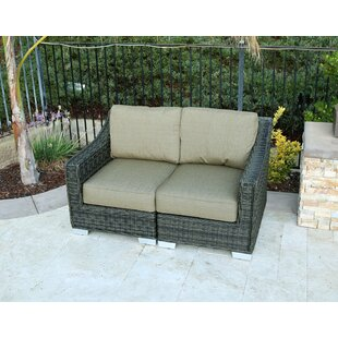 Suai Loveseat with Sunbrella Cushion