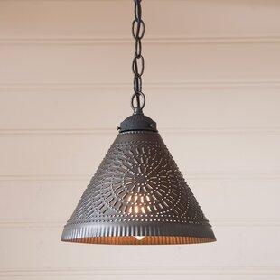 Gracie Oaks Westland 1-Light Cone Pendant
