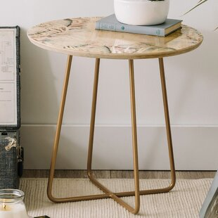 Iveta Abolina Its Nap Time Round End Table