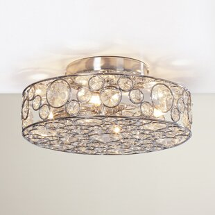 Hatfield 4-Light Semi-Flush Mount By Willa Arlo Interiors