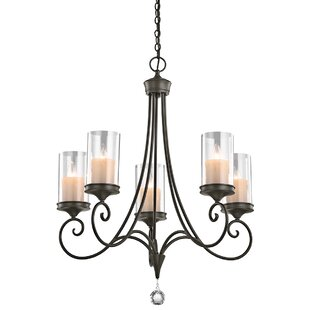Darby Home Co Bigler 5-Light Candle-Style..
