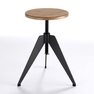 Conflans Height Adjustable Bar Stool By Borough Wharf