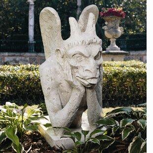 Design Toscano Spitting Gargoyle of Notre Dame Statue