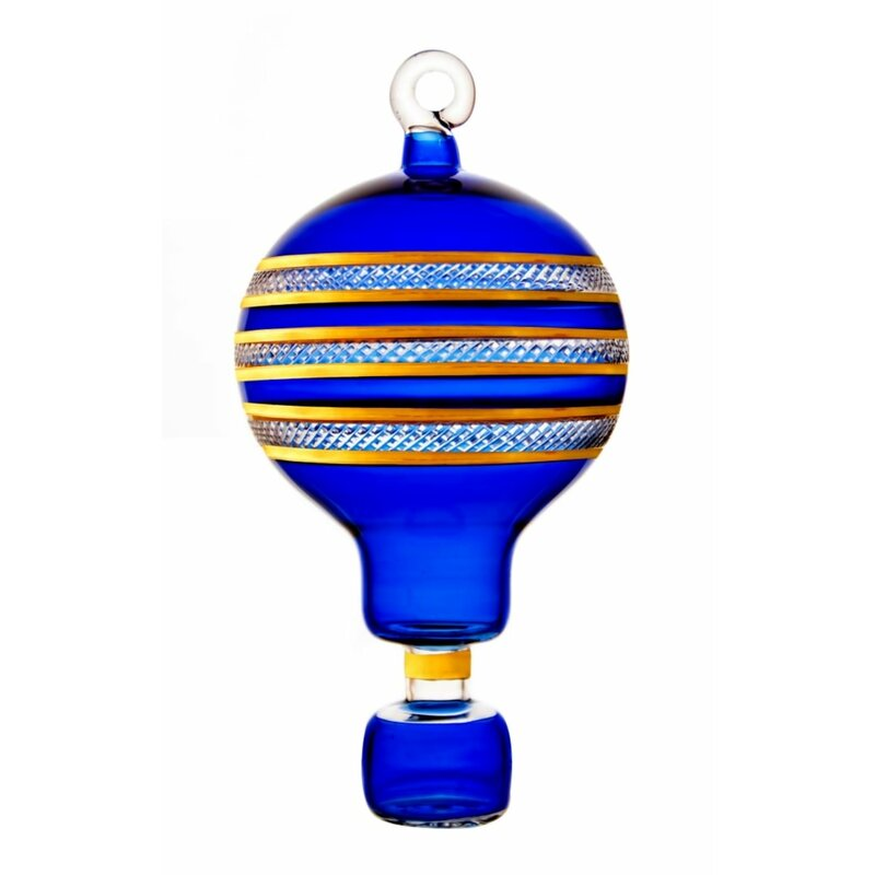 Egyptian Museum Fancy Hot Air Balloon Christmas Holiday Shaped Ornament Perigold