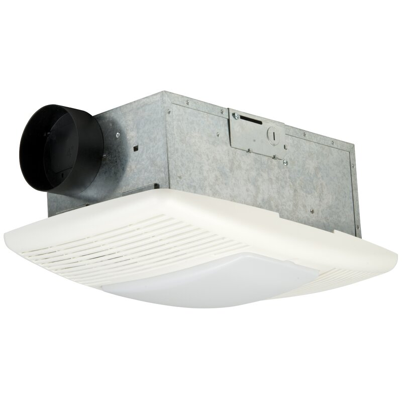 Builder Bath Exhaust Fan And Heat Vent