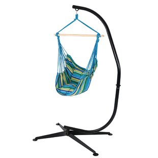 Anton Cotton and Polyester Chair Hammock with Stand