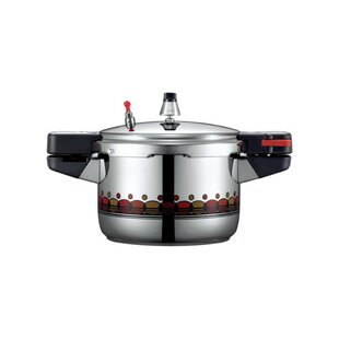Vienna 8-Cup Stainless Steel Pressure Cooker