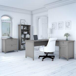 Broadview L-Shape Credenza desk