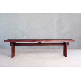 Live Edge Slab Wood Dining Bench by Masay..