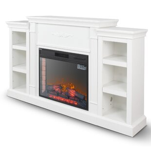 Broome Freestanding Electric Fireplace by Winston Porter