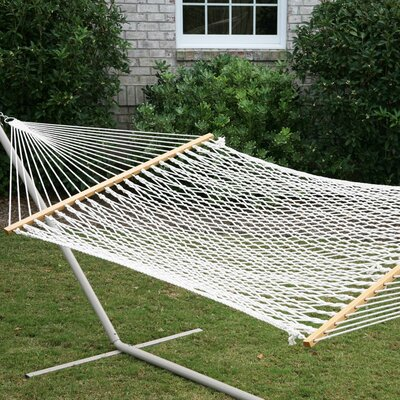 Shriver Rope Polyester Tree Hammock by Breakwater Bay Cool