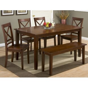 Antrim 6 Piece Dining Set by Alcott Hill Bargain