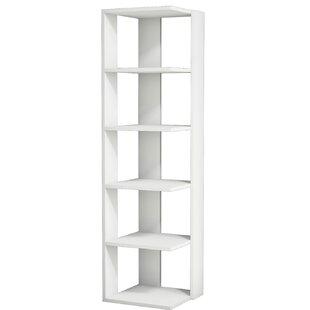 Gaudette Modern Corner Bookcas..