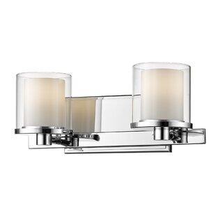 Winston Porter Whiteway 2-Light LED Vanity Light