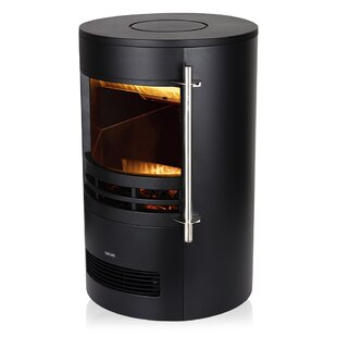 Electric Curved Stove Fire By Warmlite