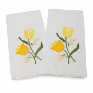 Guest Linen Hand Towel (Set of 2)