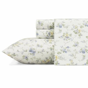 Le Fleur Flannel Sheet Set by Laura Ashley Home