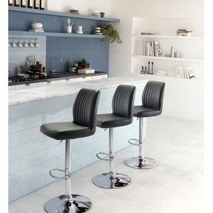 Joannie Adjustable Height Bar Stool by Or..