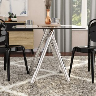 Inexpensive Huebner Dining Table By Orren Ellis