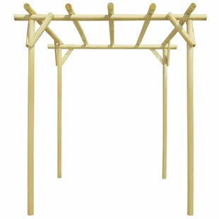 Bourland 2m X 2m X 2m Wood Pergola By Sol 72 Outdoor