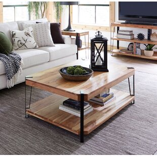Tindal Live Edge Coffee Table By Union Rustic