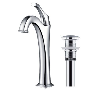 Looking for Giancarlo™ Single Hole Bathroom Faucet with Drain Assembly By Red Barrel Studio